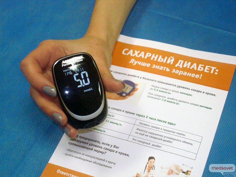 Международный день больного сахарным диабетом